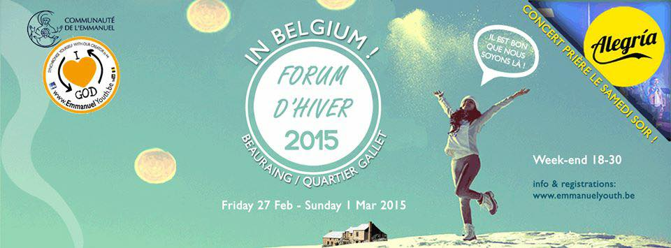 WinterForum2015 – @Beauraing