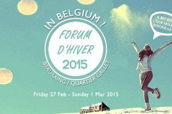 WinterForum2015 – @Beauraing