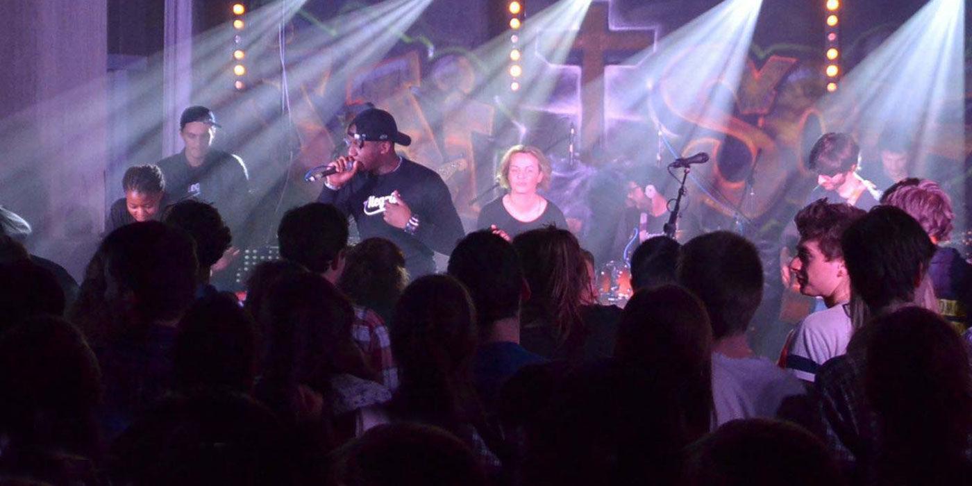 Concert Alegria au forum d'hiver 2015