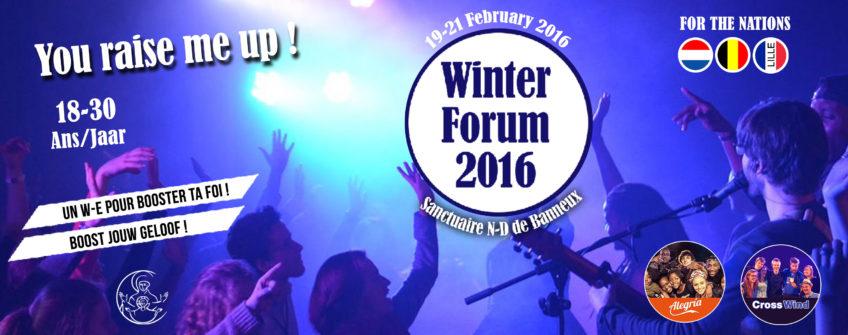 Winter Forum 2016 @ Banneux